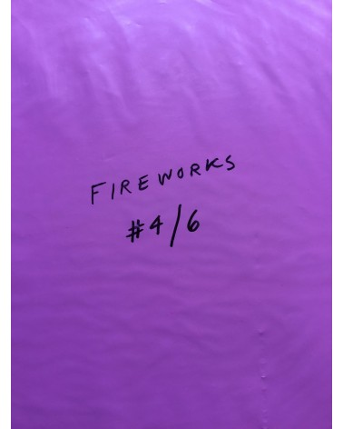 "Coley Brown - A Recurring Dream With Original Print ""Fireworks"" - 2014"