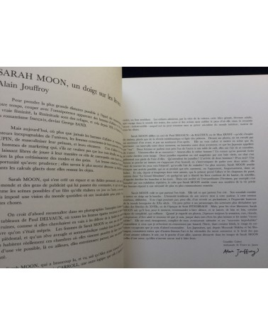 Sarah Moon - Japanese Exhibition - 1984