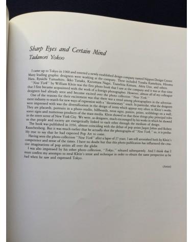 William Klein - Exhibition in Japan - 1987
