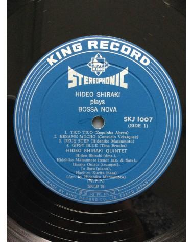 Hideo Shiraki - Plays Bossa Nova - 1962