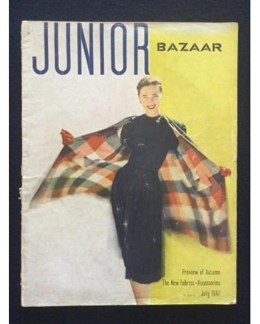 Junior Bazaar - July - 1947