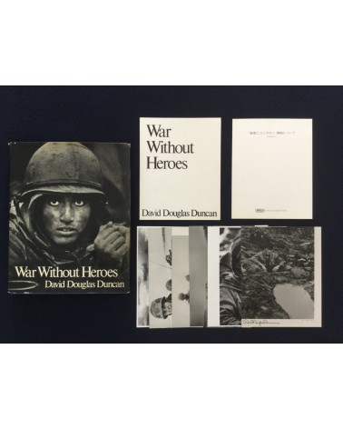 David Douglas Duncan - War Without Heroes [With Prints] - 1970