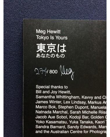 Meg Hewitt - Tokyo Is Yours - 2017