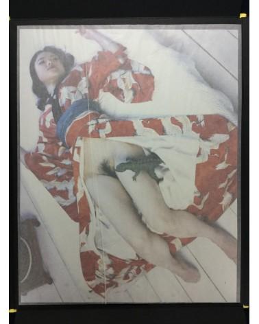 "Nobuyoshi Araki - Self, Life, Death with original color print ""Kaori"" - 2005"