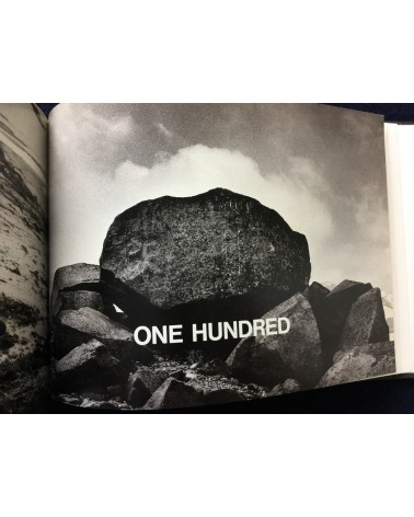 Hamish Fulton - Touching By Hand One Hundred Rocks - 1991