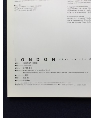 Herbie Yamaguchi - London Chasing the Dream & original print - 2003