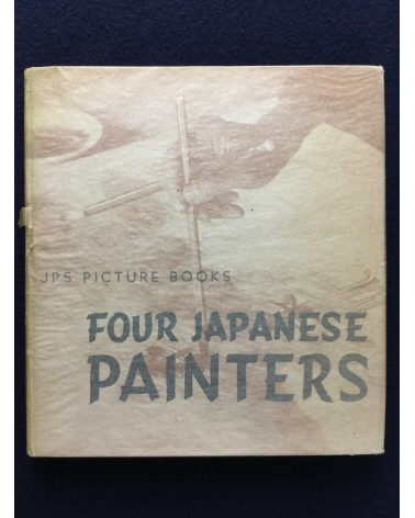 Ihei Kimura - Four Japanese Painters, Taikan Yokoyama, Gyokudo Kawai, Shoen Uemura, Kiyokata Kaburagi - 1939