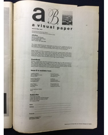 A Be Sea - Issue D - 1993