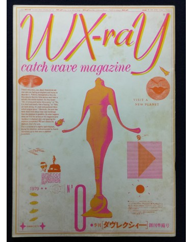 WX-raY, Catch wave magazine - 1979