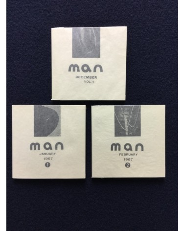 Man - Set of 3 books - 1966/1967