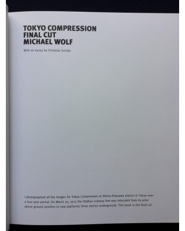 Michael Wolf - Tokyo Compression. Final Cut - 2017